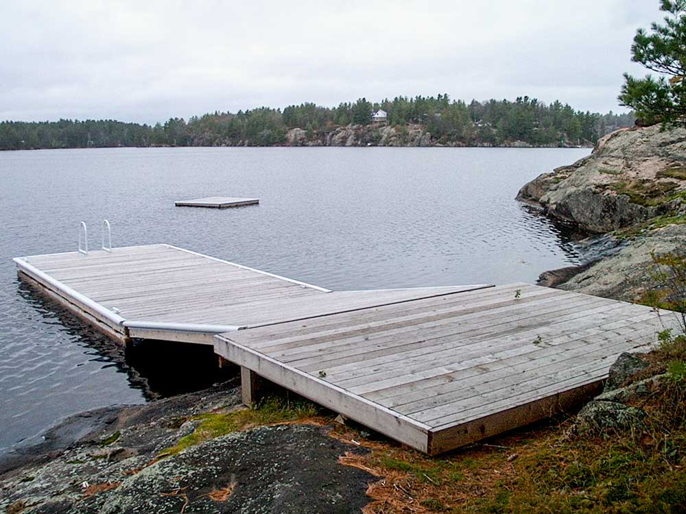 how to build a simple dock