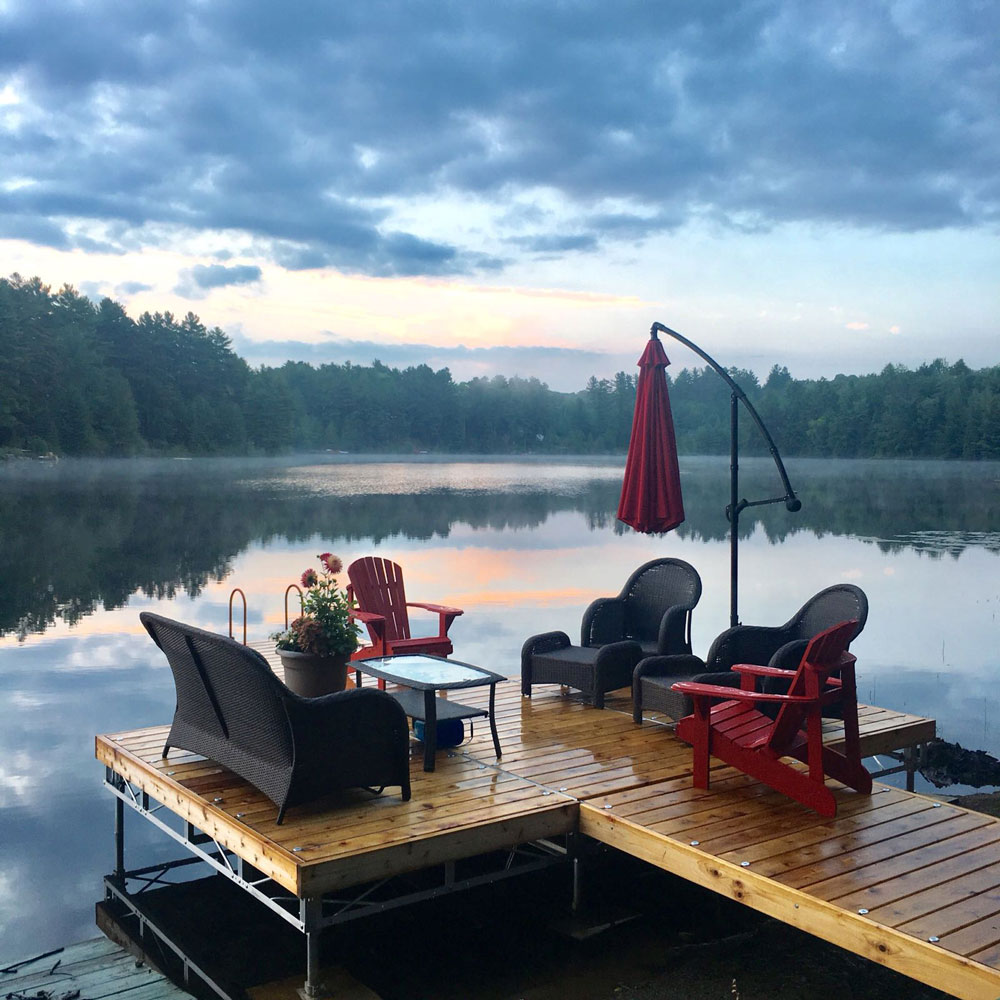 Relaxation on a Pipe Dock.